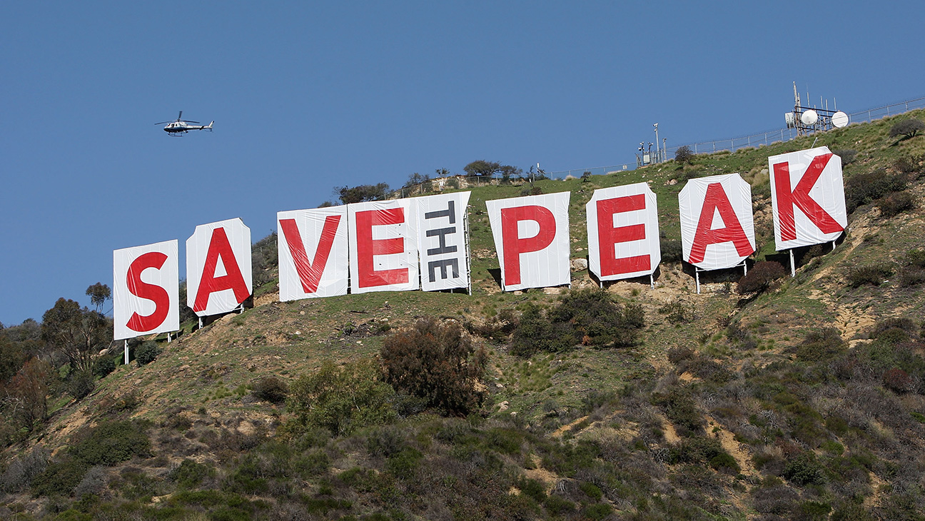Saving the Hollywood Sign