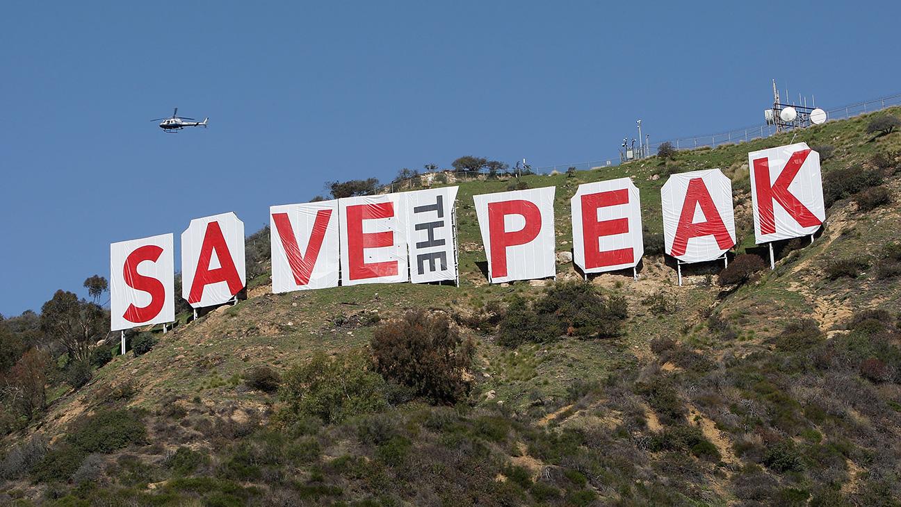 Saving the Hollywood Sign